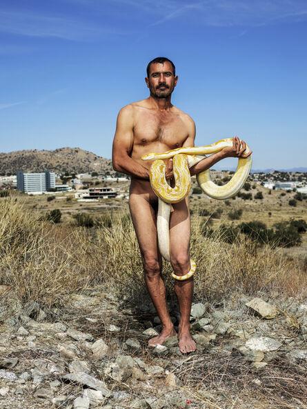 Pieter Hugo, ' The snake charmer, Hermosillo, 2019', 2019