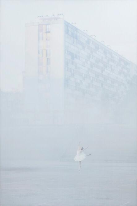 JR, '28 Millimètres, Portrait d'une génération, Les Bosquets, In the Mist, Montfermeil, France', 2014