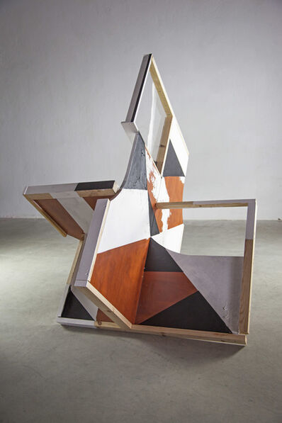 Clemens Behr, 'Difficult Table with Window', 2014