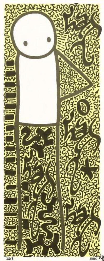 Stik, 'Hip (Yellow)', 2013