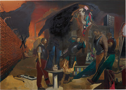 Neo Rauch, 'Die Lage / The Location', 2006