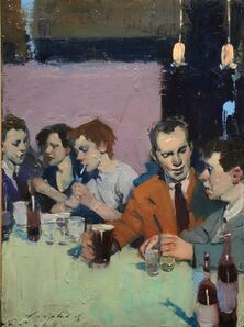 Malcolm T. Liepke, 'At The Bar', 2018