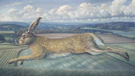 James Lynch (b. 1956), 'The Longleat Hare', 2018