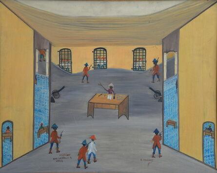 Etienne Chavannes, 'Arrestation après la bataille de vertières'
