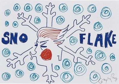 Grayson Perry, 'Untitled (Snow Flake Drawing)', 2017