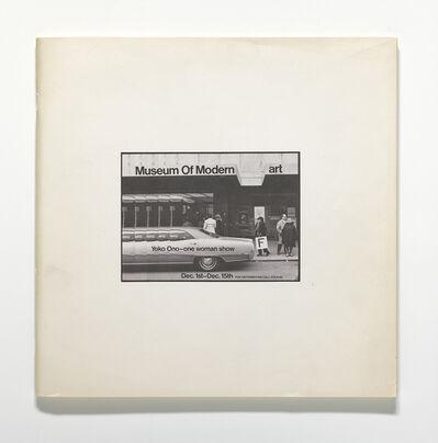 Yoko Ono, 'Museum of Modern [F]art', 1971