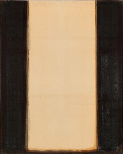 Yun Hyong-keun, 'Burnt Umber & Ultramarine', 1977-1978