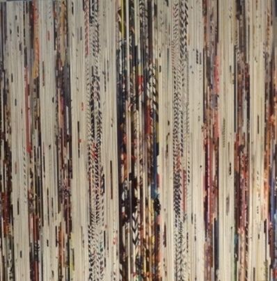 "Alejandra Padilla, 'Papiros "" Evrything returns I""', 2012"