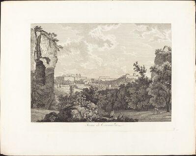 Albert Christoph Dies, 'Terme di Caracalla', 1793