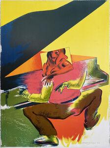 Allen Jones, 'Playtime. Stone Lithographic Print by Allen Jones, R.A.', 1995