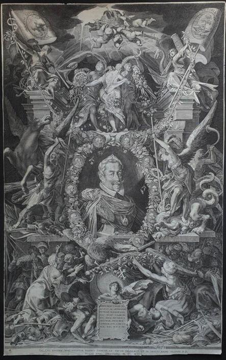 Aegidius Sadeler II, 'Matthias Emperor', 1614