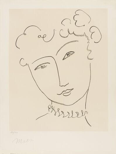 Henri Matisse, 'La Pompadour: Plate I (Duthuit 664)', 1951