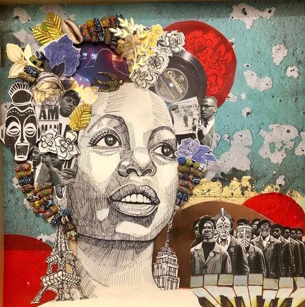 Kahrin Bennett, 'Nina; Mood Indigo', 2019