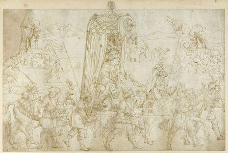 Erhard Schön, 'A Turkish Procession', 1532