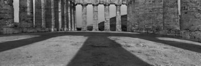 Josef Koudelka, 'Italy, Segesta (Sicily), Doric temple, interior. Peristyle of 6 x 14 columns (approximately 31 x 56 m). The building was unfinished and hence has no cella or fluting on the columns. Late 5th century BCE. View from west. Photograph: 2006.', 2006