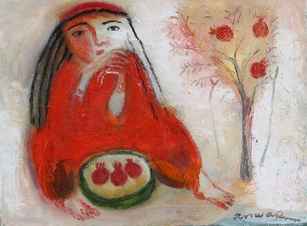 Anwar Abdoullaev, 'Pomegranates', 2017