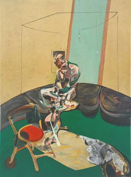 Francis Bacon, 'Portrait of George Dyer Staring at Blind Cord', 1966