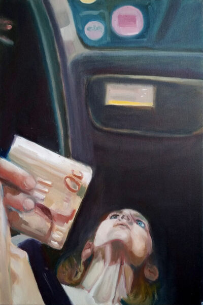Izabella Volovnik, 'Handing Cash', 2017
