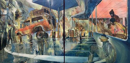 Will Barras, 'Land Cruiser Diptych', 2020