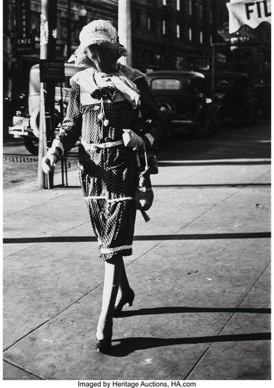 John Gutmann, 'Death Stalks Fillmore', 1934