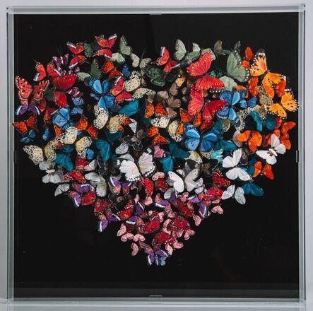 Michael Olsen, 'Butterflies, Heart', 2019