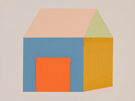 Ann Schaumburger, 'Orange Door House 1', 2014
