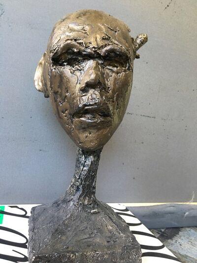 Grégoire Müller, 'Wounded Head', 2002