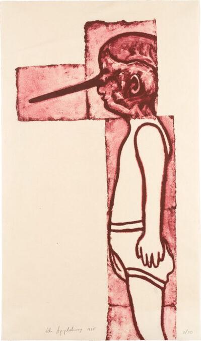Ida Applebroog, 'FATTY, FATTY, TWO BY FOUR', 1995