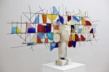 Manolo Valdés, 'Cabeza de Marmol y Resina', 2019