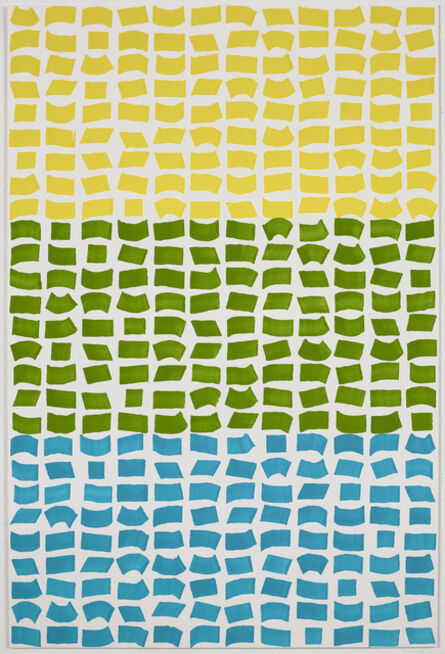 Jacob Ouillette, 'Yellow/Green/Blue 108', 2018