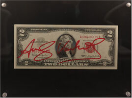 Andy Warhol, 'Two Dollars Jefferson', ca. 1963