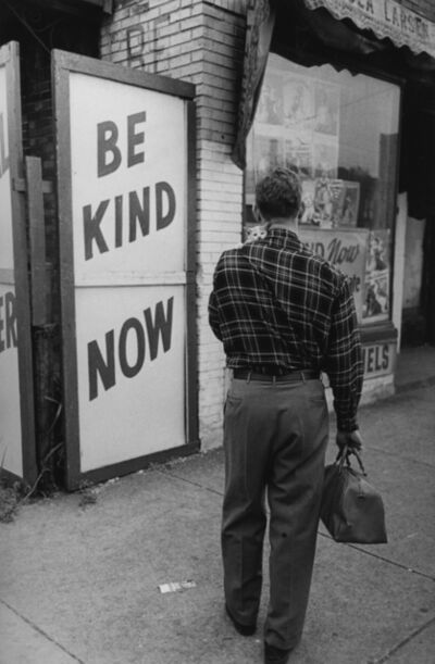Art Shay, 'Be Kind, Chicago, 1950'