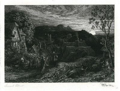 Samuel Palmer, 'The Bellman', 1879