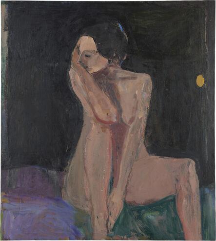 Richard Diebenkorn, 'Seated Nude, Arm on Knee', 1962