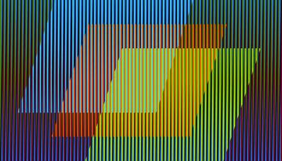 Carlos Cruz-Diez, 'Color Aditivo Antonella Uno', 2011