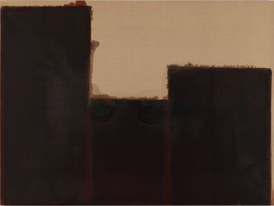 Yun Hyong-keun, 'Burnt Umber & Ultramarine', 1991-1993