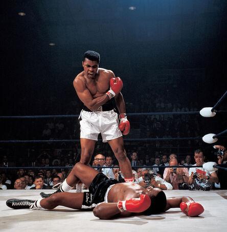 Neil Leifer, 'Muhammad Ali Reacts (...)', 1965