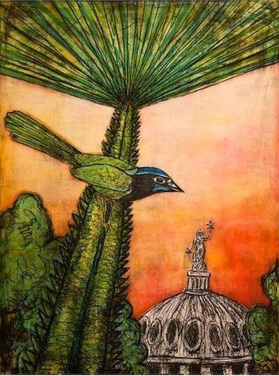 Frank X. Tolbert, 'Texas Green Jay', 2015