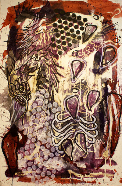 Lucio Santiago, 'Quetzalcóatl, El Origen Inerte 1', 2016