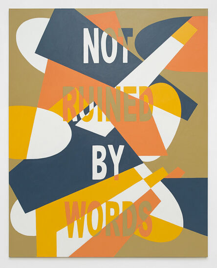 Muntean & Rosenblum, 'Untitled (Not ruined by...)', 2014