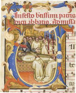 Fra Gregorio Mutii da Montalcino, 'Death of Saint Benedict', 1390/1395