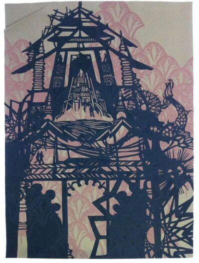 Swoon, 'Temple', 2010