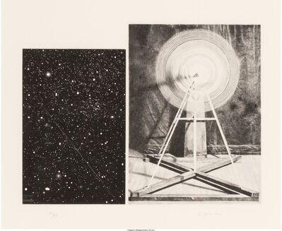 Vija Celmins, 'Concentric Bearings A', 1984
