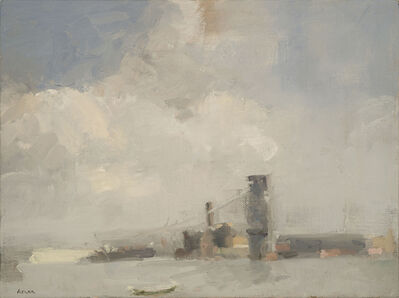 Laura Adler, 'East River Buildings and Cloud Cover', 2013