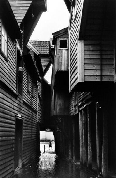 Martine Franck, 'Bruyggen, old Hanseatic Merchants' district, Bergen, Norway', 1983