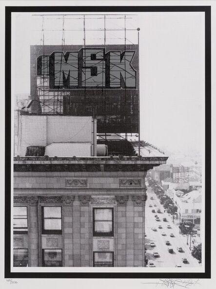 Saber, 'MSK Taft Building 08', 2008