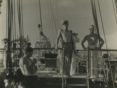 Walker Evans, 'Aboard the Cressida, South Pacific.', 1932