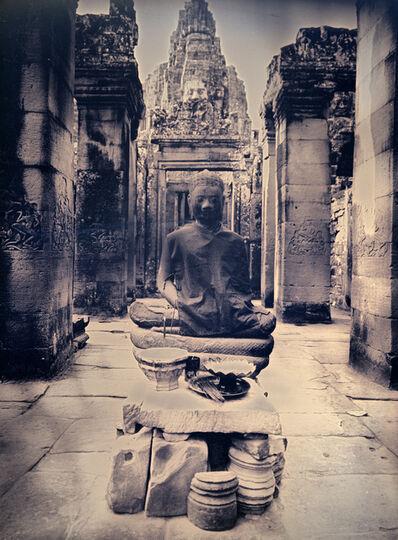 Binh Danh, 'Meditating buddha of Bayon', 2017