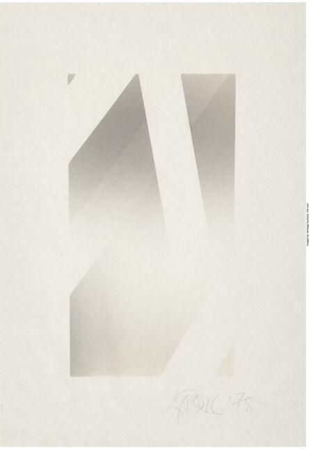 Larry Bell, 'W-D 43', 1978
