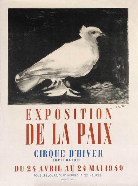Pablo Picasso, 'Exposition de la Paix', 1949
